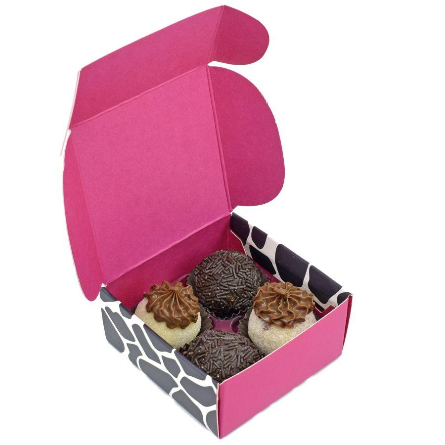 Caixa para 4 doces - Miga Loka c/10 un