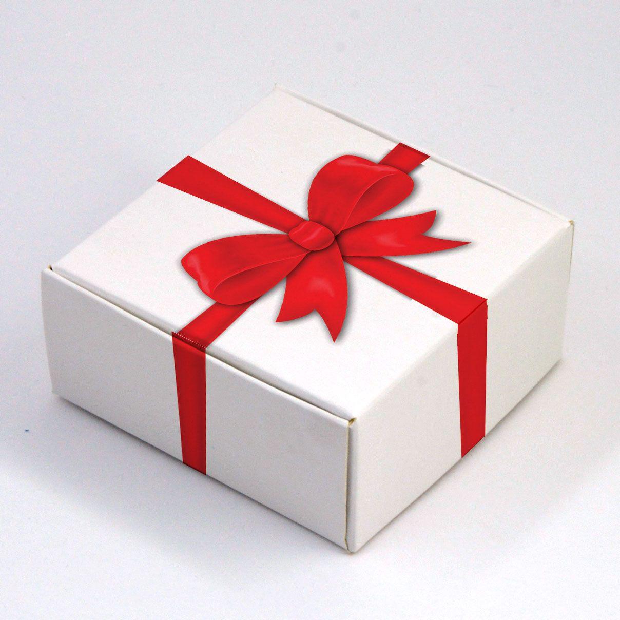 Caixa para 4 doces - Presente c/10 un