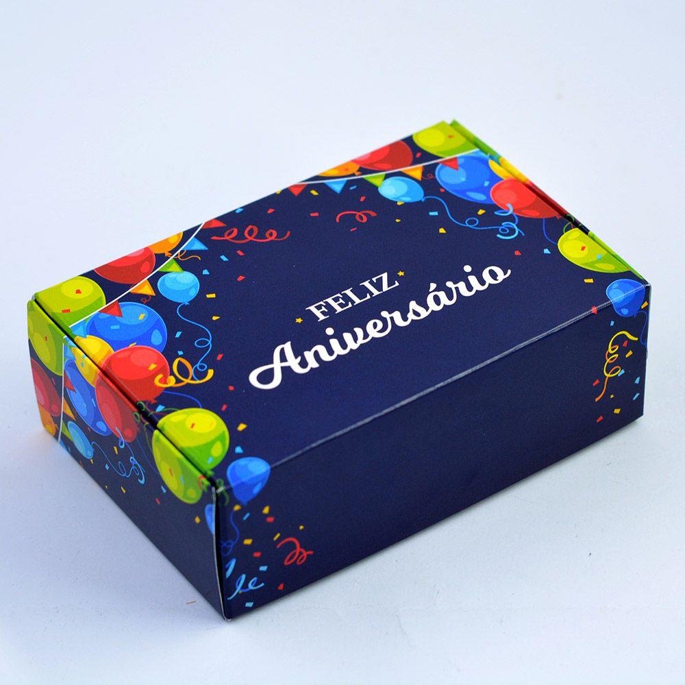 Caixa para 6 doces - Aniversário 2 C/10 UN