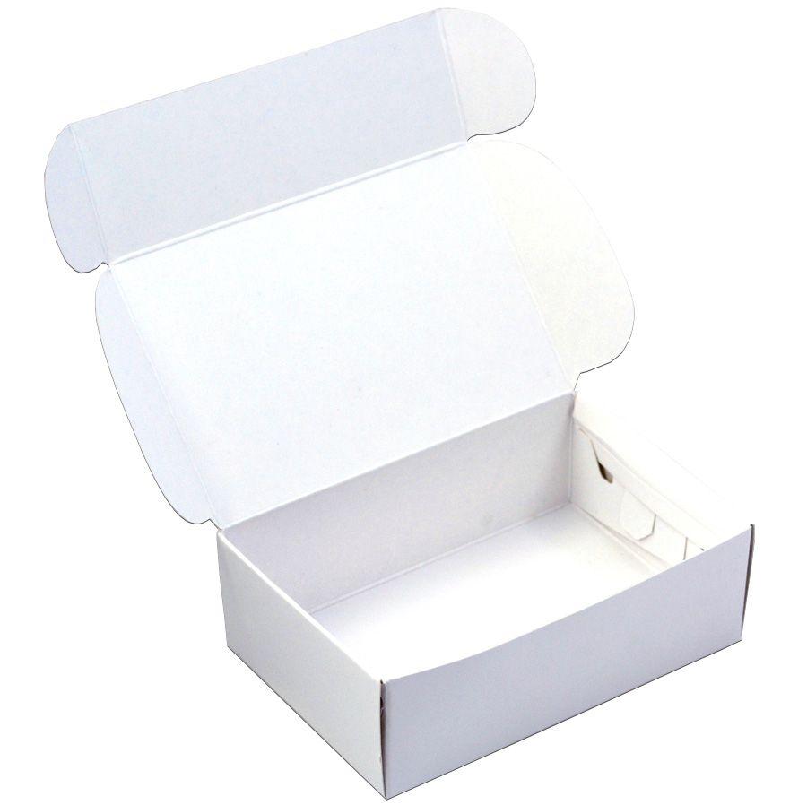 Caixa para 6 doces - Branca C/10 UN