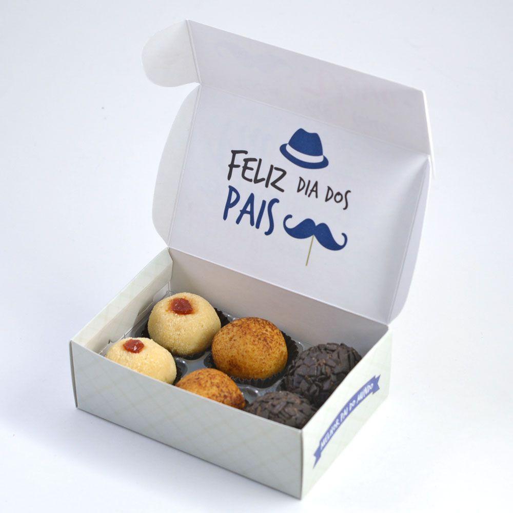 Caixa para 6 doces Dia dos Pais - Avô C/10 UN