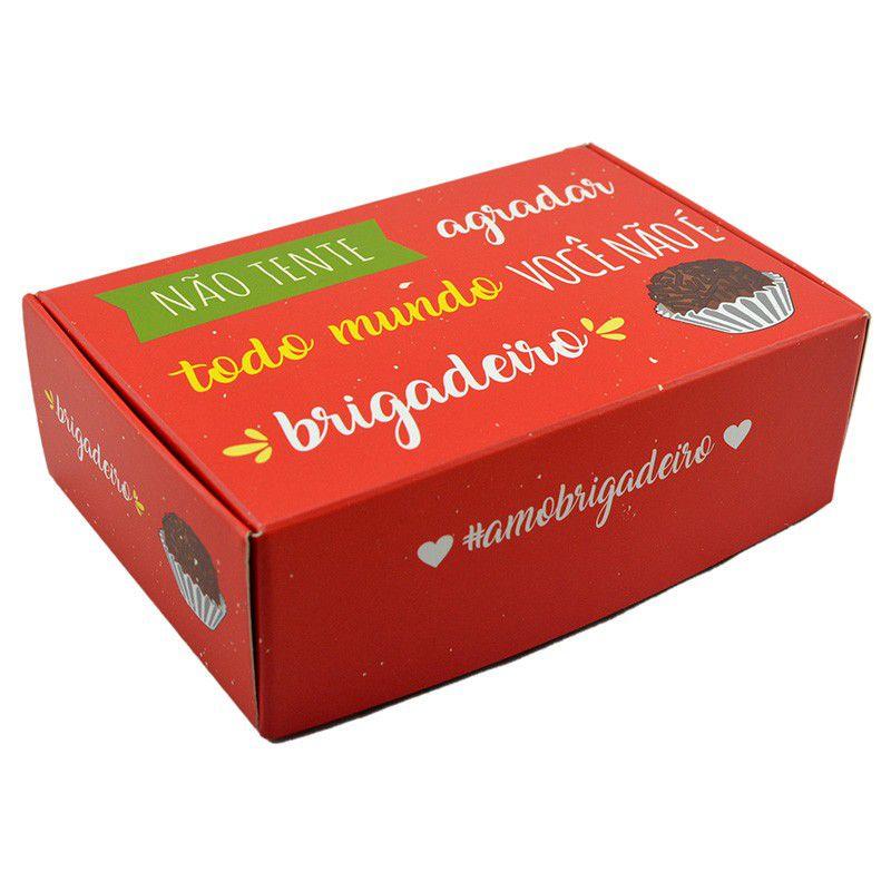 Caixa para 6 doces - Não Tente Agradar C/10 UN