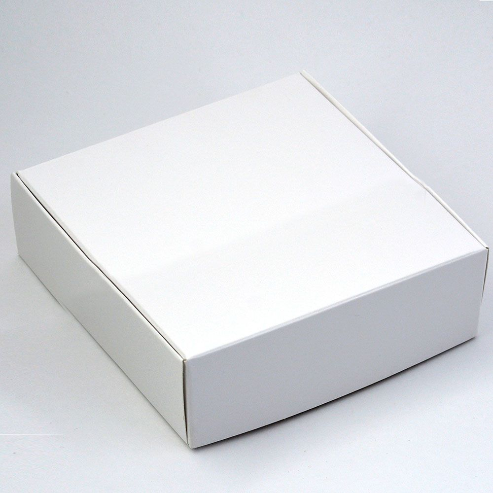Caixa para 9 doces - BRANCA C/10 un