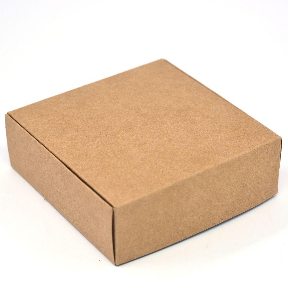 Caixa para 9 doces Kraft c/ 10 un