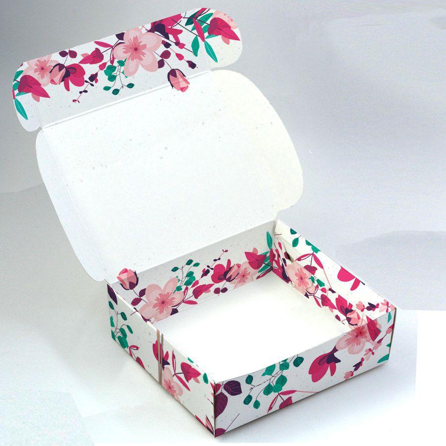 Caixa para 9 doces - Presente Floral C/10 un