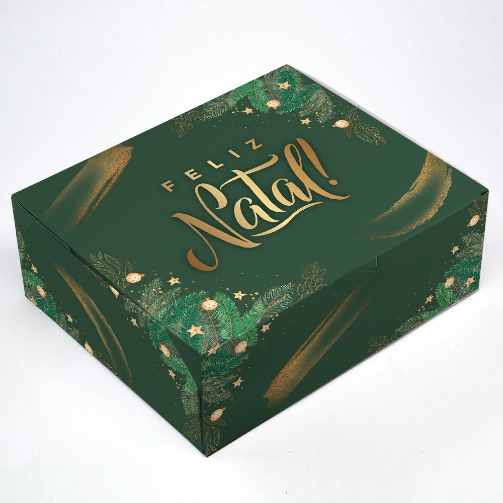 Caixa para KIT P - Natal Esperança C/ 10 un