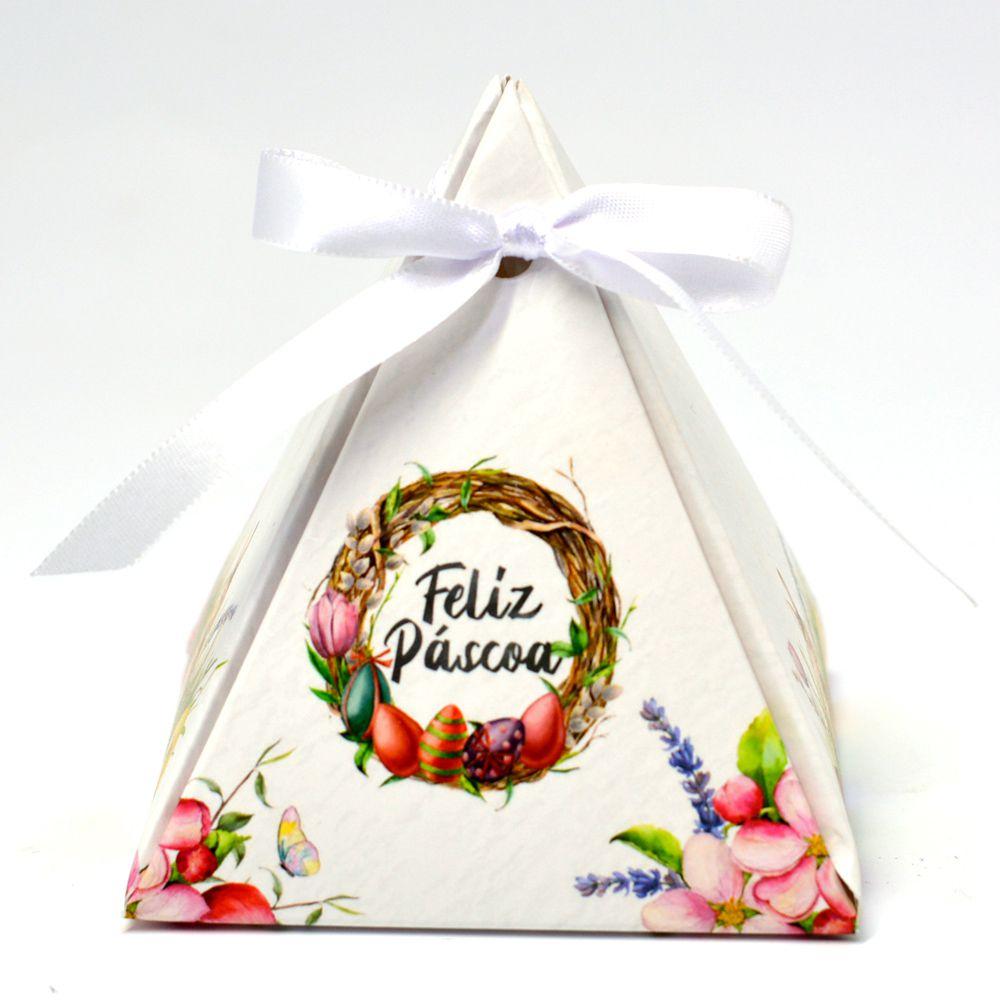 Caixa Pirâmide - Páscoa Encantada c/10 un