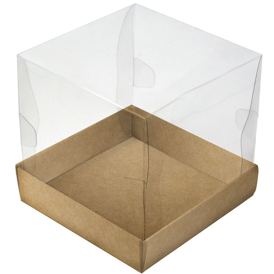 Caixa Premium Mini Bolo - Kraft c/10un