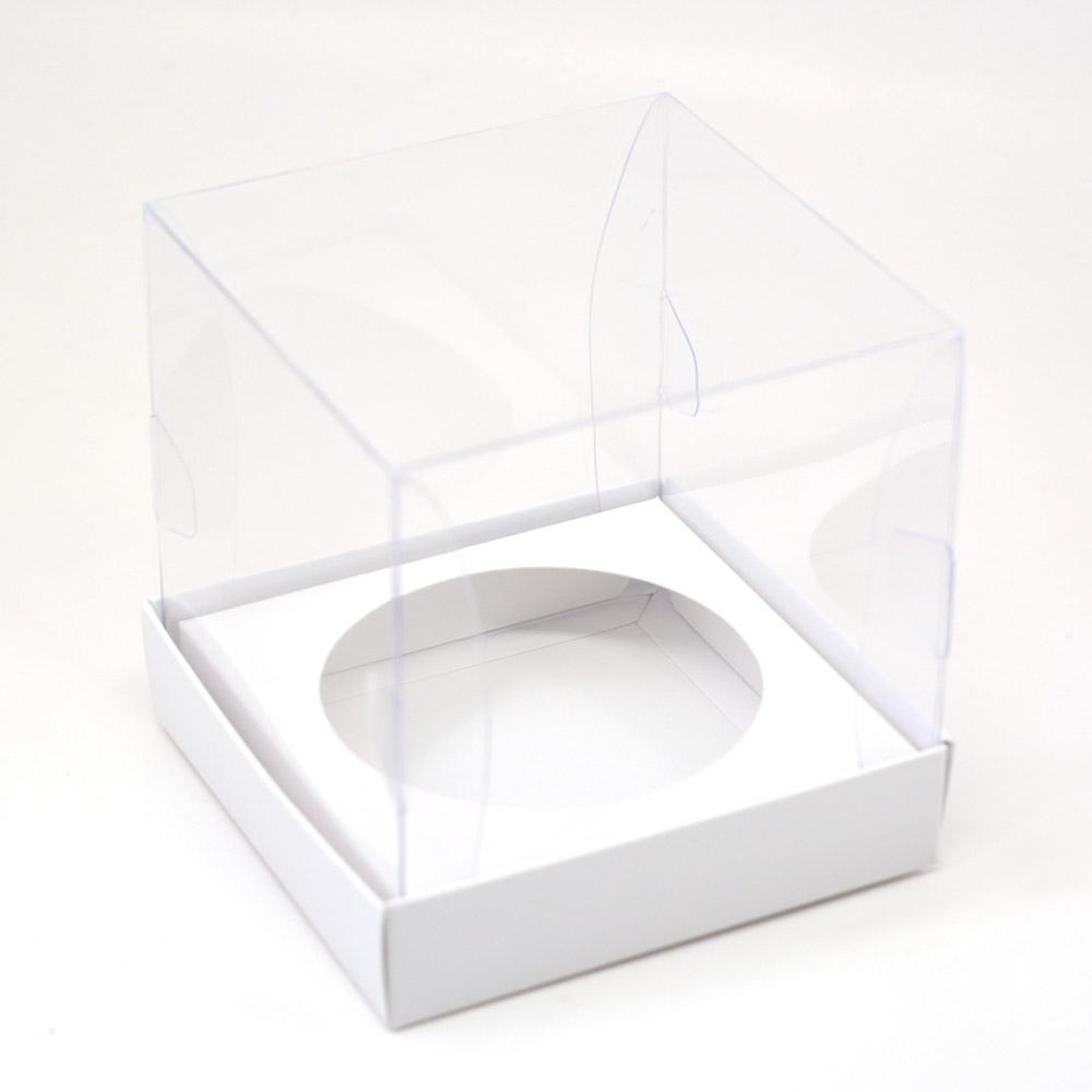 Caixa Premium Mini Panetone - Branca c/10un