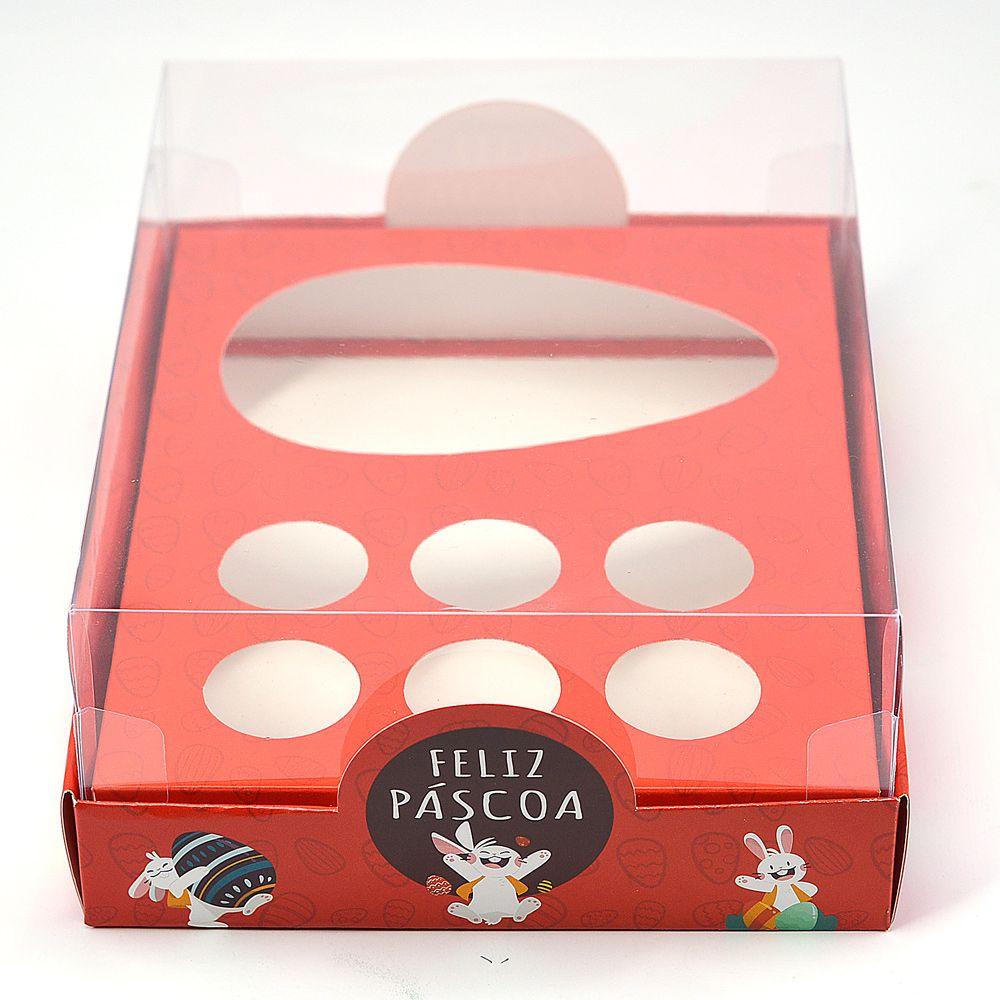 Caixa Premium para Ovo de Colher + Brigadeiro Divertida c/ 5 un