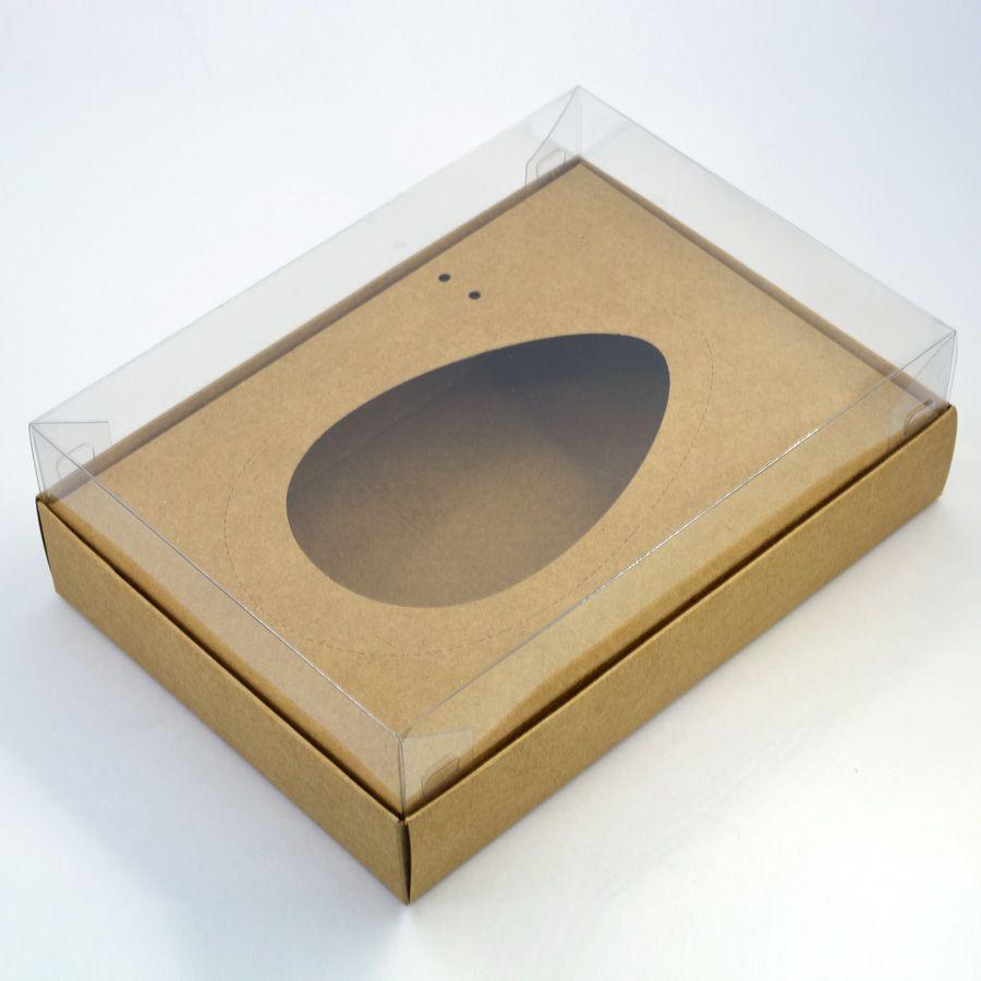 Caixa Premium para Ovo de Colher - Kraft c/ 10 un