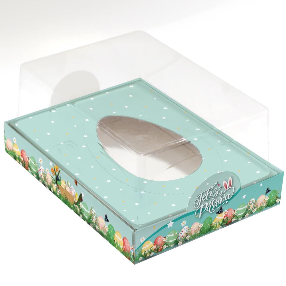 Caixa Premium para Ovo de Colher - Magia da Páscoa C/ 10un