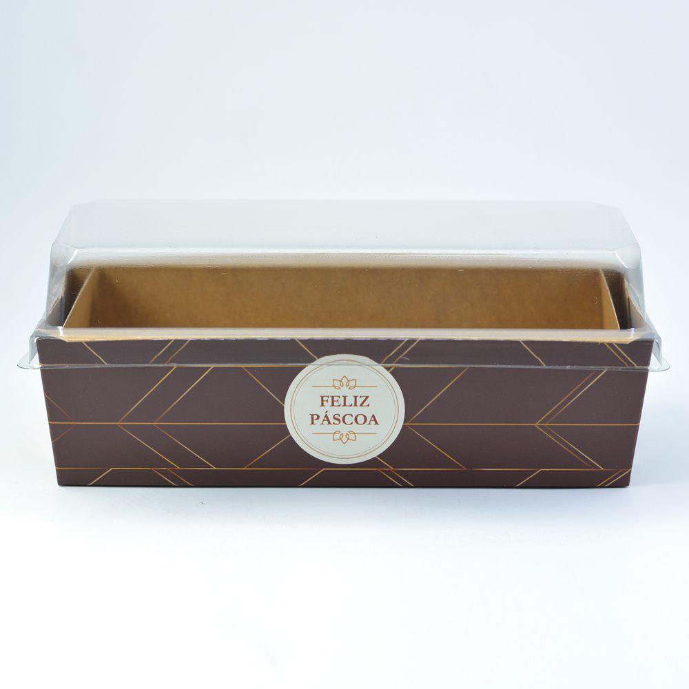 Forma para Bolo Inglês G - C/ Tampa - Mod Páscoa Luxo c/10 un