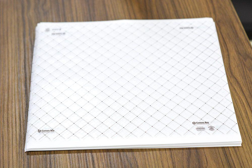 Papel Duofresh® para Embrulho G C/100 un