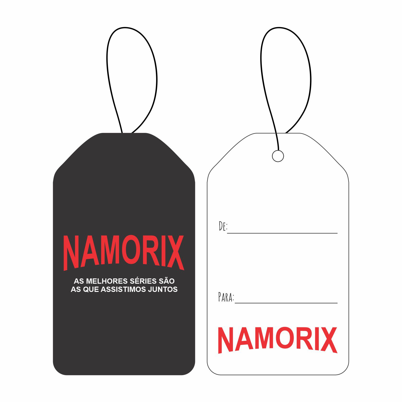 Tag Namorados - Namorix C/10 UN