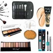 Kit Maquiagem para Maletas Ruby Rose Belle Angel Rimel 4D