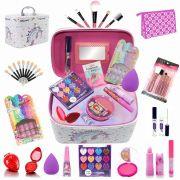 Maleta Infantil + Kit maquiagens e itens de beleza BZ40