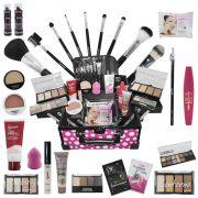 Maleta Grande de Maquiagem Completa Ruby Rose Luisance BZ62