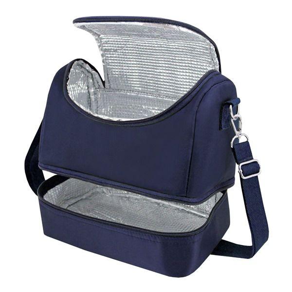 8a3c87f1d ... Bolsa Térmica c/ 2 Compartimentos Masculino Jacki Design Azul - Bazar  Na Web