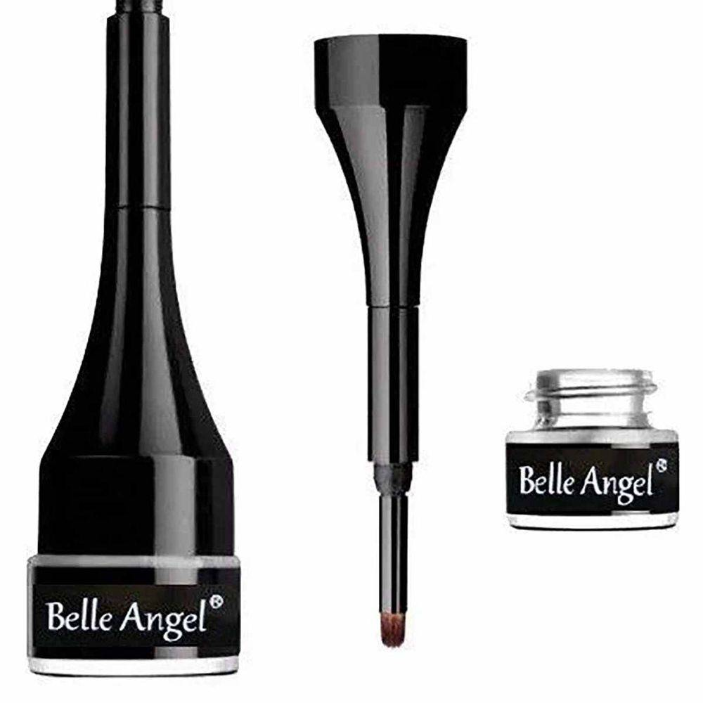 Maleta Maquiagem Profissional Completa Belle Angel Pincel Macrilan muitos brindes BZ37