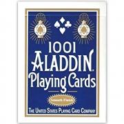 Baralho Aladdin 1001 Standart Smooth Finish  - Azul