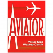 Baralho Aviator Standard - Vermelho
