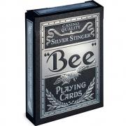 Baralho BEE Silver Stinger  - Premium Deck