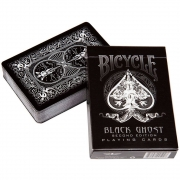 Baralho Bicycle Black Ghost - PREMIUM