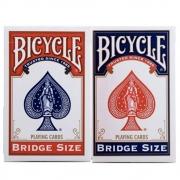 Baralho Bicycle Bridge Size  Standard azul e Vermelho (Combo 2 unidades)