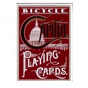 Baralho Bicycle Capitol Vermelho