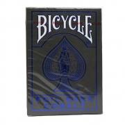 Baralho Bicycle MetalLuxe Cobalt(azul) Caixa Cinza Metalizado