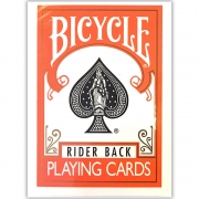 Baralho Bicycle Rider back Laranja