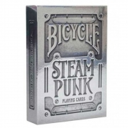 Baralho Bicycle Silver Steampunk - PREMIUM Deck