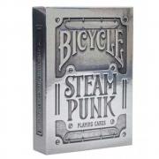 Baralho Bicycle Silver Steampunk - PREMIUM Deck (PROMO ANIVERSÁRIO)