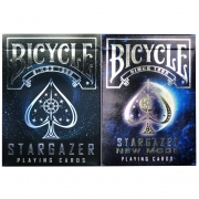 Baralho Bicycle Stargazer New Moon  e Stargazer (kit com 2 baralhos)