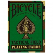 Baralho Bicycle Tactical Field  Desert jungle Green