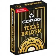 Baralho Copag de Poker  Texas Hold Dourado