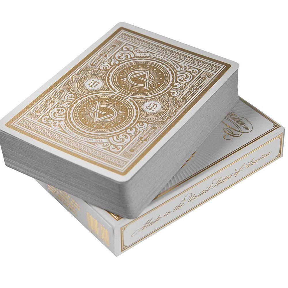 Baralho Artisan Branco - Premium Edition