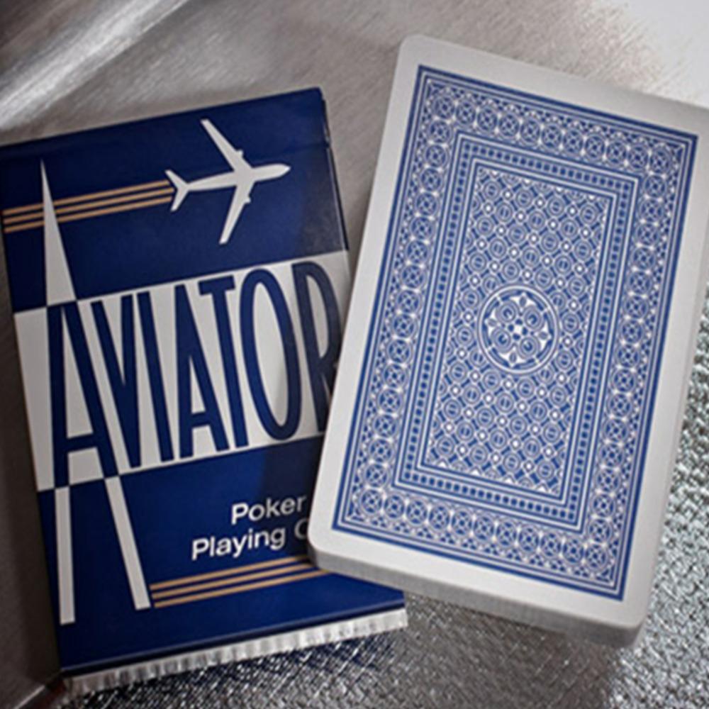 Baralho Aviator Standard - Azul