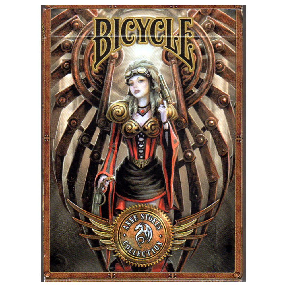 Baralho Bicycle Age of Dragons e SteamPunk - Kit 2 Baralhos