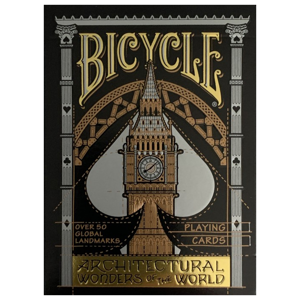 Baralho Bicycle  Architectural Wonders of the World- Premium