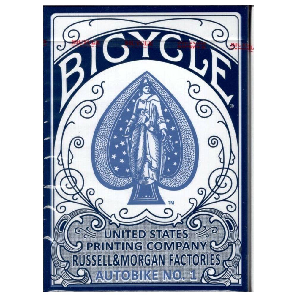 Baralho Bicycle Autobike  Azul