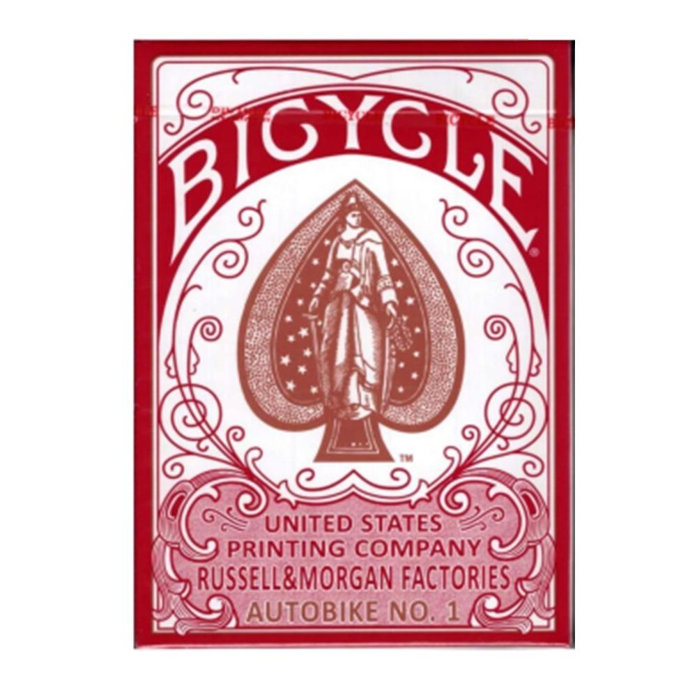 Baralho Bicycle  Autobike   Vermelho