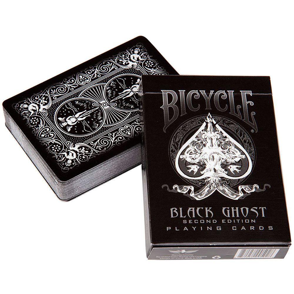 Baralho Bicycle Black Ghost - PREMIUM