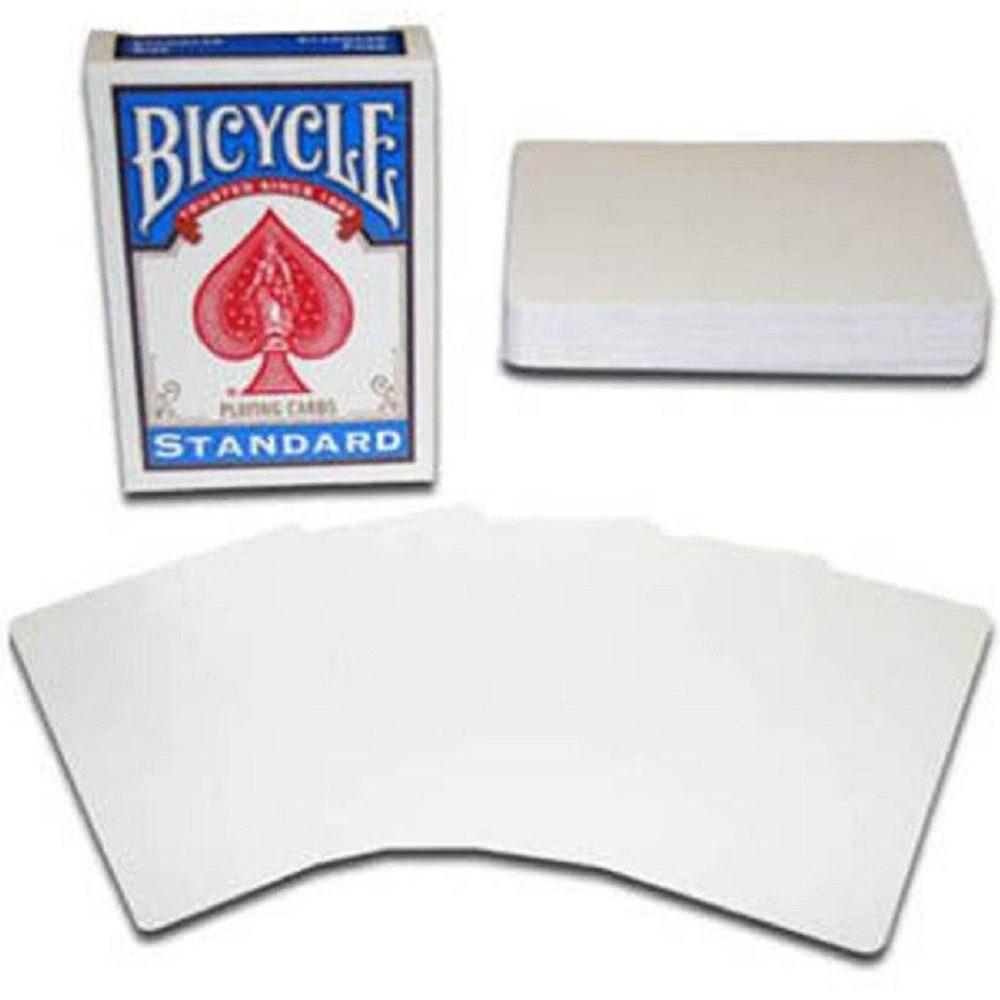 Baralho Bicycle Blank Card Both Sides