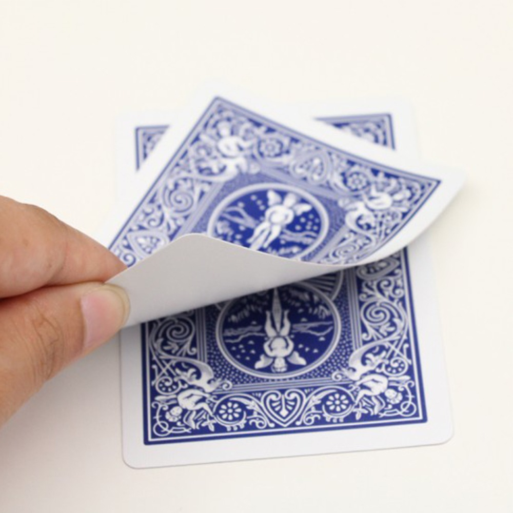 Baralho Bicycle Blank Face Blue Card