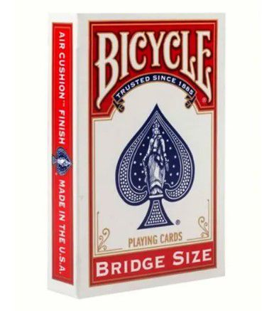 Baralho Bicycle Bridge Size index Standart azul