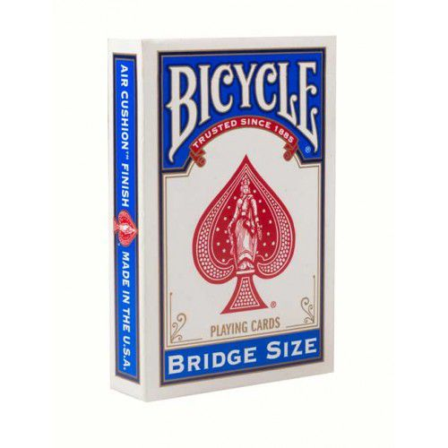 Baralho Bicycle Bridge Size - Red