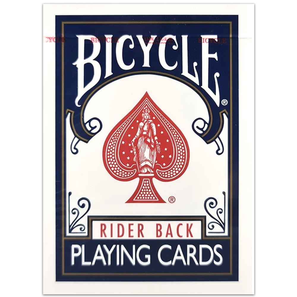 Baralho Bicycle Classic Rider Back Azul