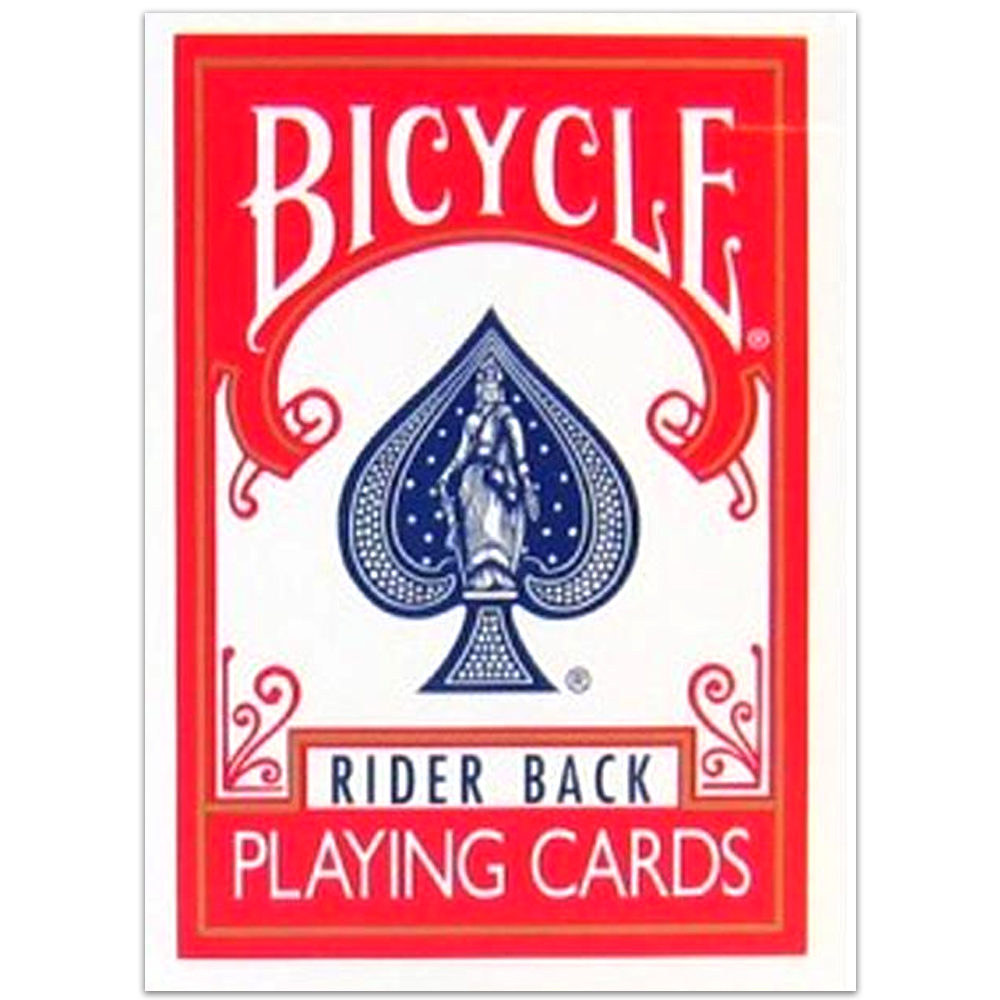 Baralho Bicycle Classic Rider Back Azul e Vermelho (Kit 2 pçs)